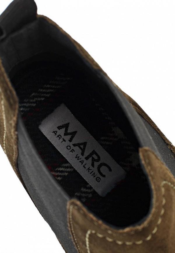фото Женские полусапожки на каблуке Marc MA361AWIZ090, болотного цвета