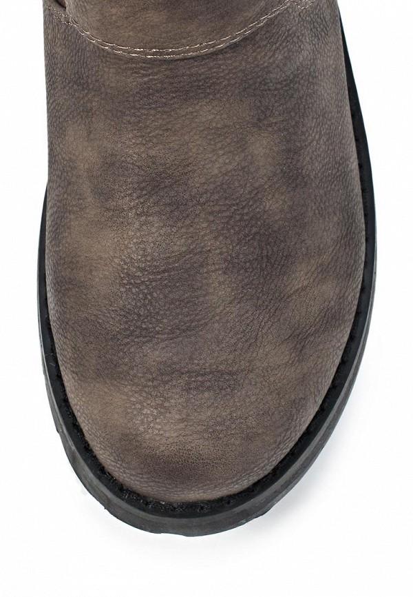 фото Женские полусапожки на толстом каблуке Mefice ME002AWKW854, серые