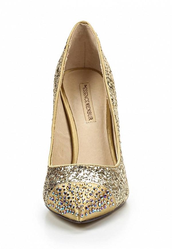 фото Туфли женские на каблуке Menbur ME005AWBKV90, золотые