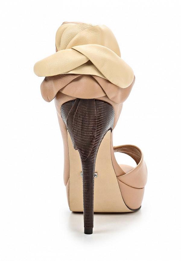 фото Туфли на платформе и каблуке Menbur ME005AWBKW06, бежевые