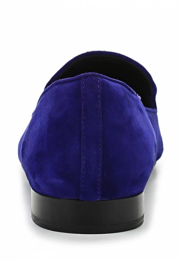 фото Лоферы женские Medea ME248AWBEN09, синие/каблук