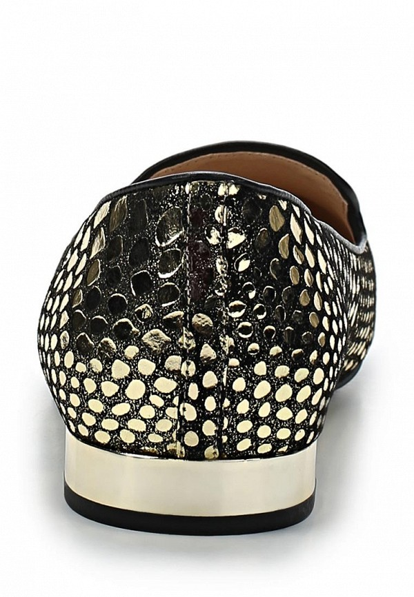 фото Лоферы женские Medea ME248AWBEN10, золотые/каблук