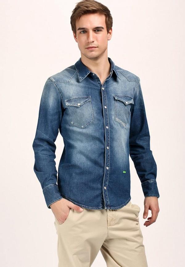 Рубашка 2 Men ME986EMBS673. Цвет: синий