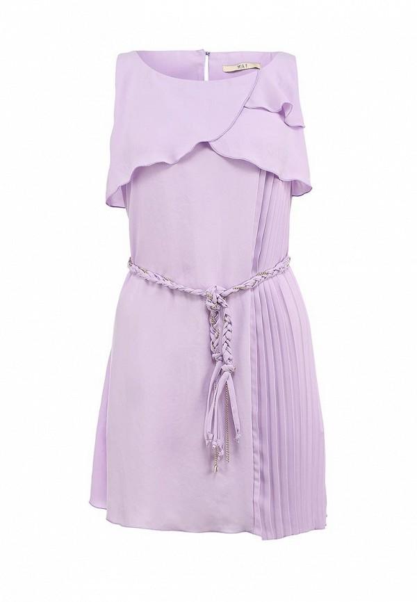 Платье Mia. Цвет: фиолетовый