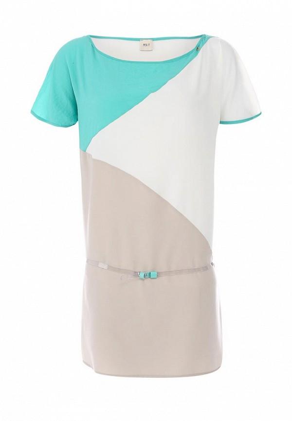 Платье Mia. Цвет: комбинированный