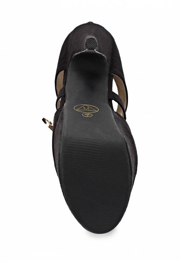 фото Туфли на платформе и шпильке MISSGUIDED MI033AWBNQ87, черные открытые