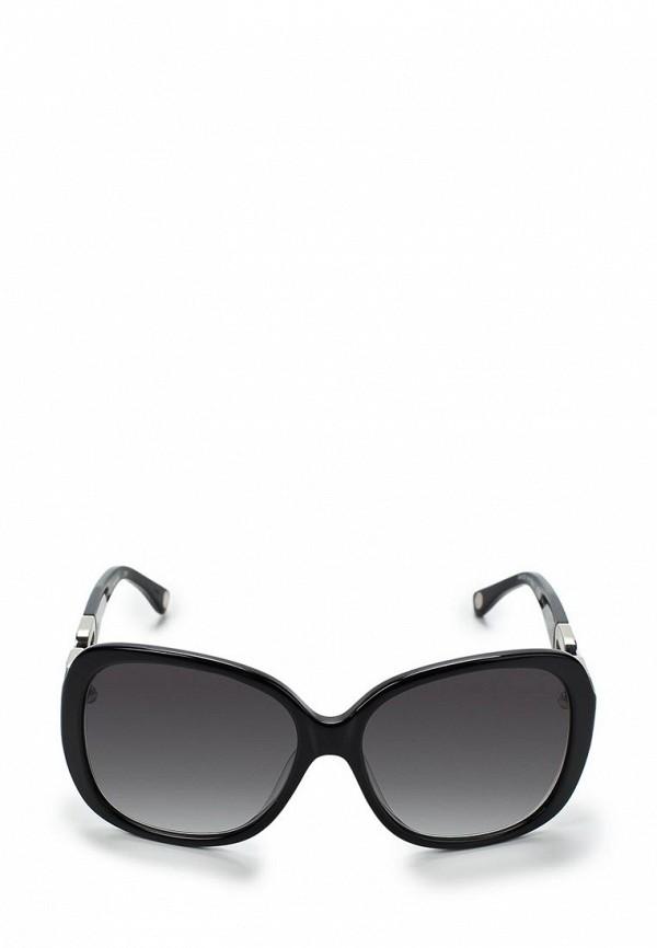 Очки солнцезащитные Michael Kors MI186DWBDT60. Цвет: черный