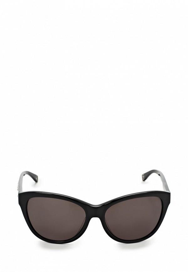 Очки солнцезащитные Michael Kors MI186DWBDT64. Цвет: черный