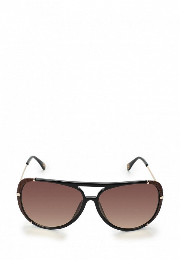Очки солнцезащитные Michael Kors MI186DWBDT71. Цвет: черный