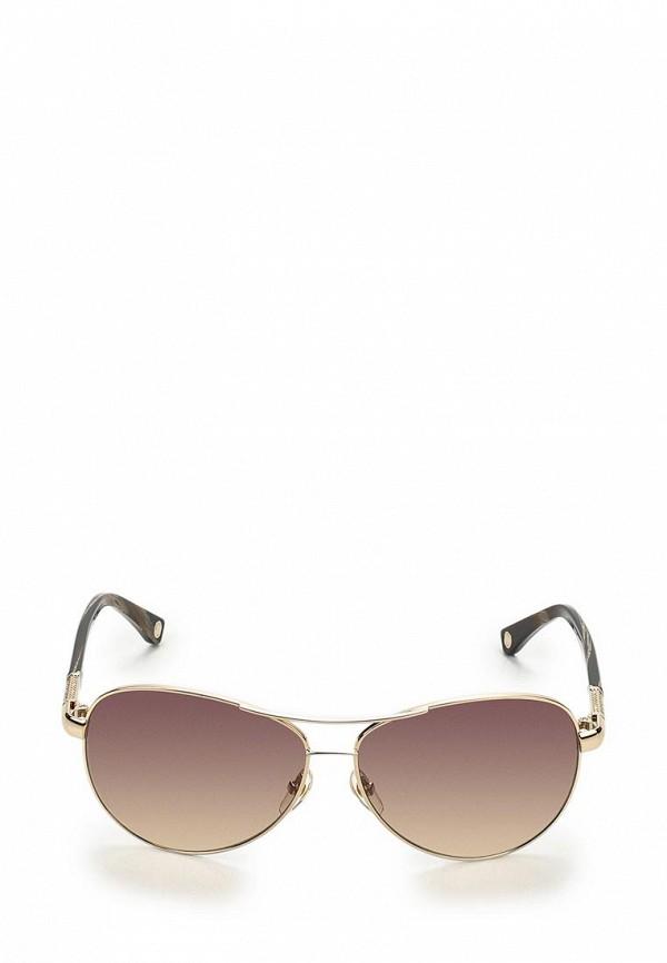 Очки солнцезащитные Michael Kors MI186DWBDT72. Цвет: коричневый