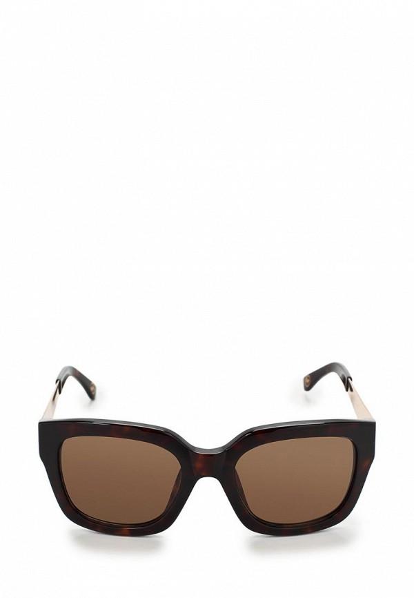 Очки солнцезащитные Michael Kors MI186DWBDT74. Цвет: черный