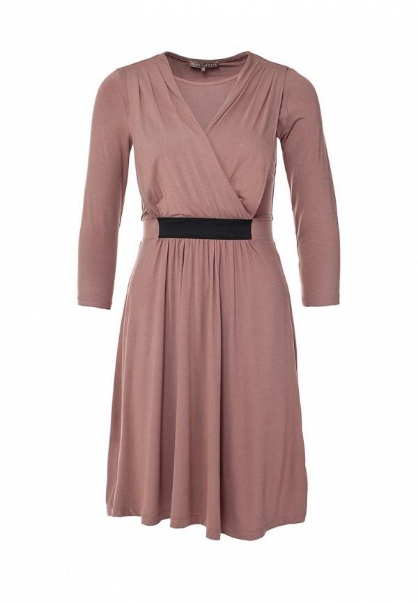 Платье Mint&Berry. Цвет: розовый