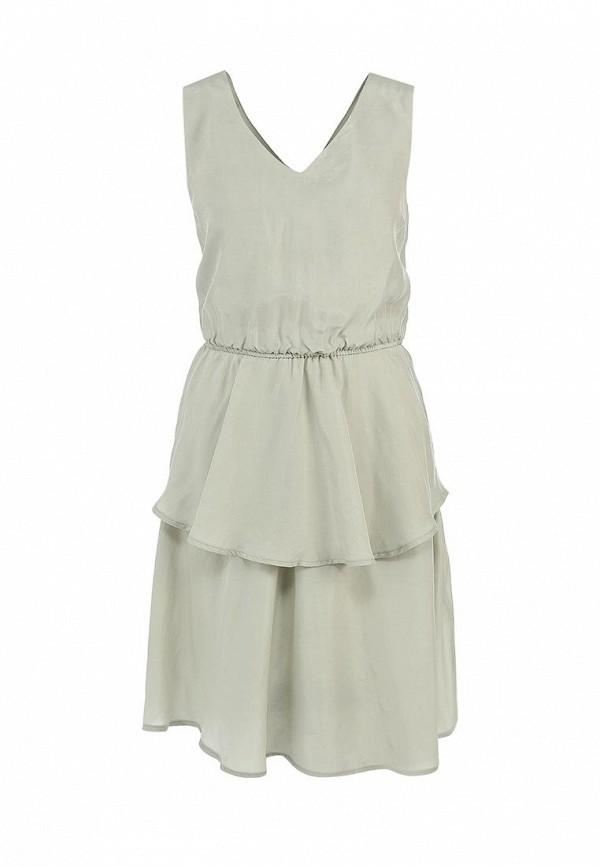 Платье Mint&Berry. Цвет: серый