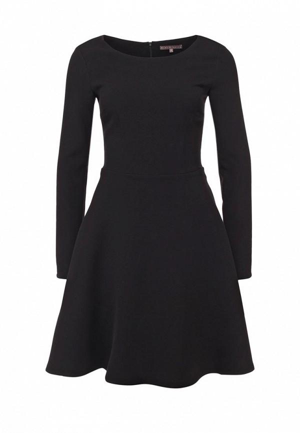 Платье Mint&Berry. Цвет: черный