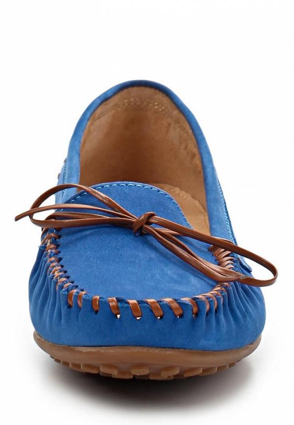 фото Мокасины женские Milana MI840AWABF91, синие/шнурок