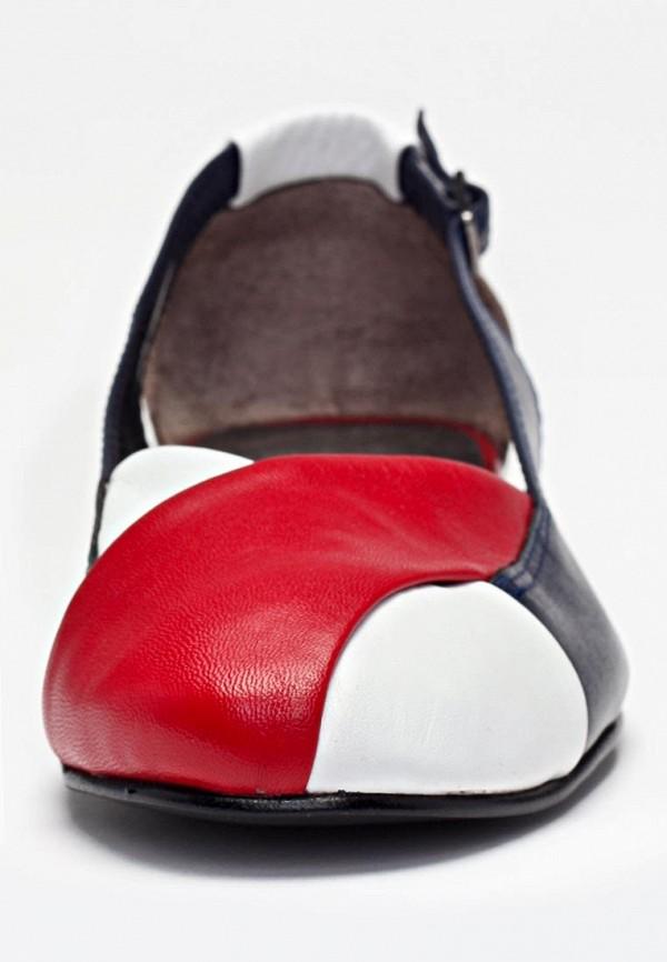 Женские сандалии 1001 miles 02-бел/син/крас: изображение 4