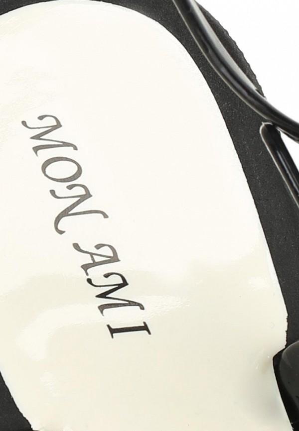 фото Сланцы женские Mon Ami MO151AWBNE17, черные