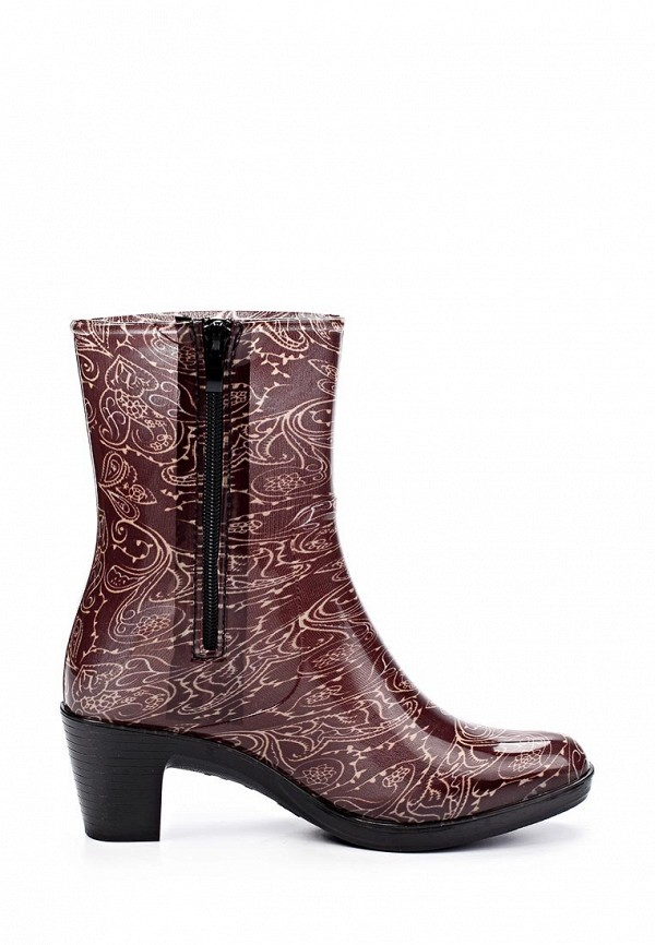 фото Резиновые сапоги женские Mon Ami MO151AWGK612, коричневые