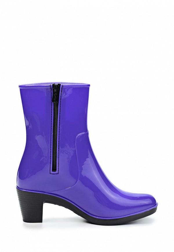 фото Резиновые сапоги женские Mon Ami MO151AWGK622, фиолетовые