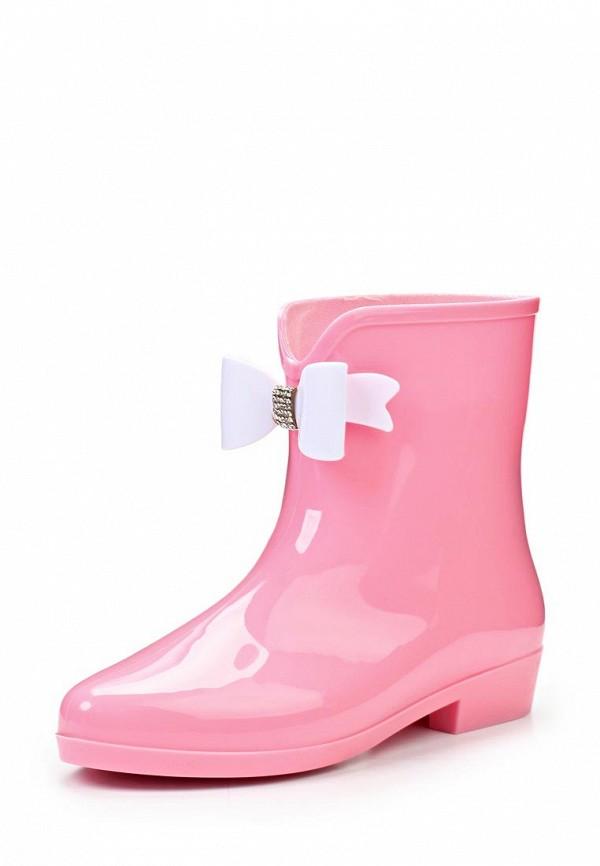 фото Сапоги резиновые женские Mon Ami MO151AWJW210, розовые