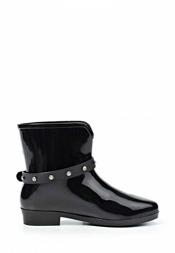 фото Резиновые сапоги женские Mon Ami MO151AWKL060, черные низкие