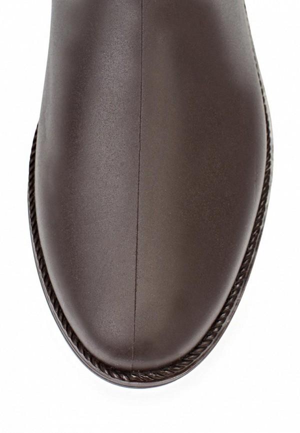 фото Резиновые сапоги женские Mon Ami MO151AWKY243, коричневые