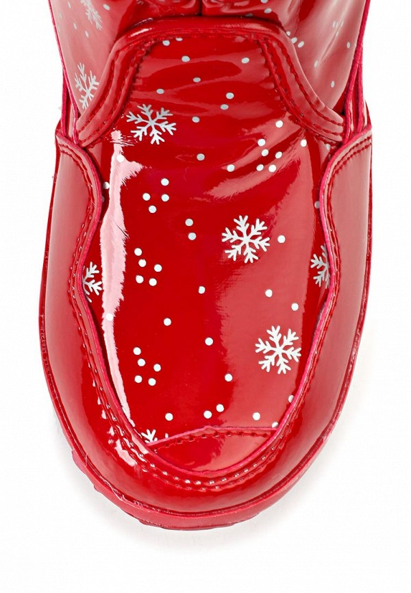 фото Сапоги-дутики женские Mon Ami MO151AWLM146, красные лаковые