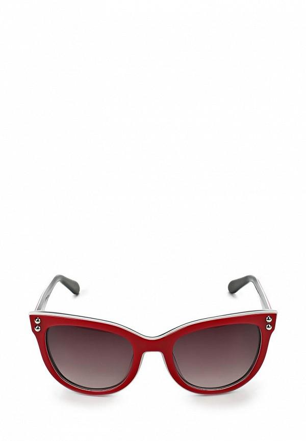 Очки солнцезащитные Moschino MO351DWAUK93. Цвет: красный