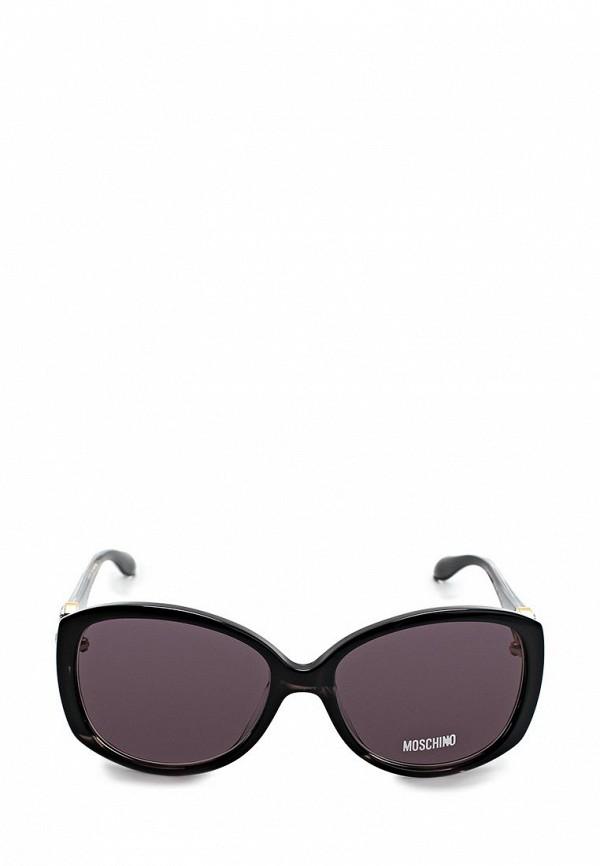 Очки солнцезащитные Moschino MO351DWAUK97. Цвет: черный