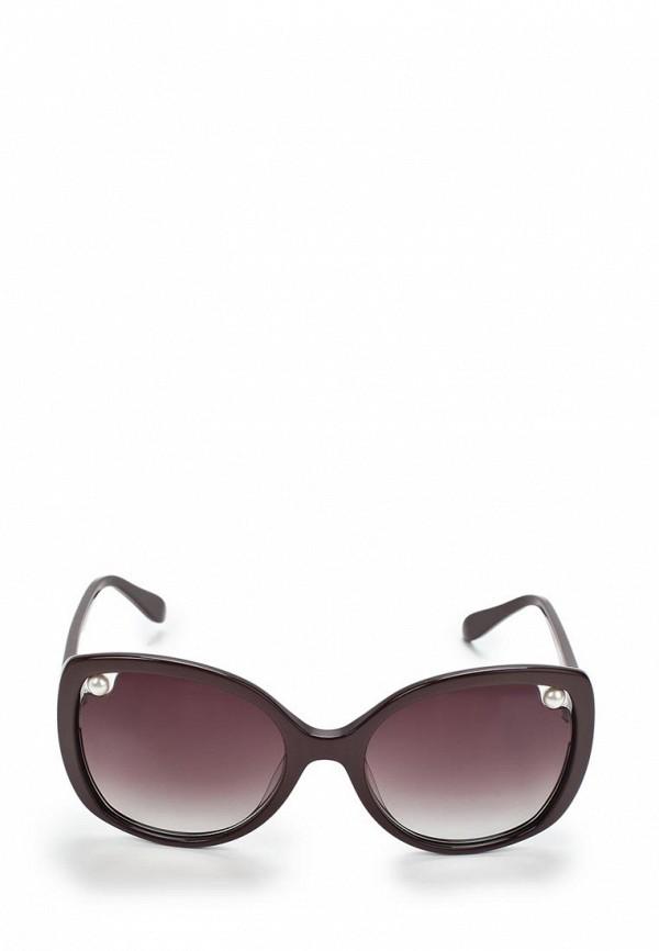 Очки солнцезащитные Moschino MO351DWAUL02. Цвет: коричневый