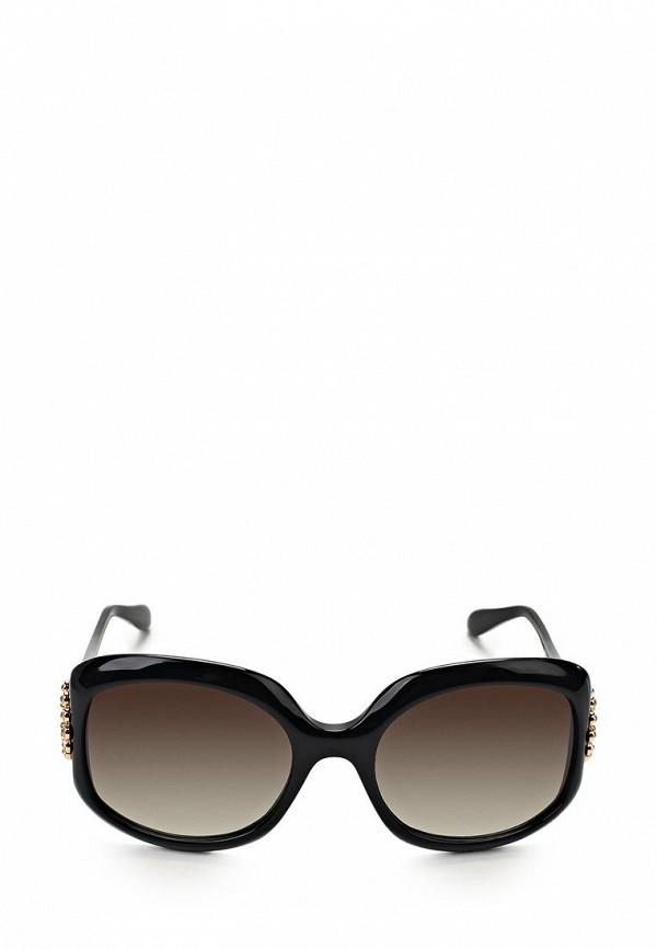 Очки солнцезащитные Moschino MO351DWAUL03. Цвет: черный