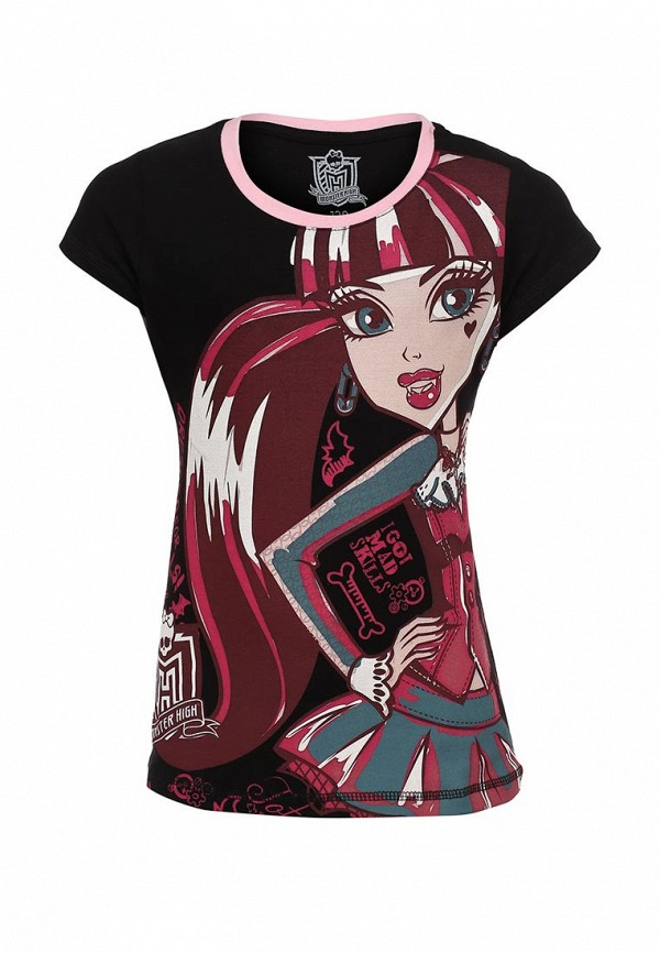 Футболка Monster High MH-TSG101-BLK