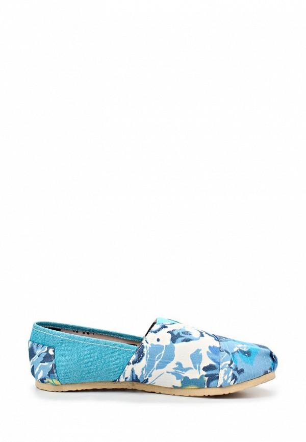 фото Слипоны женские Mol&Pop MP001AWAAC55, голубые/мультицвет