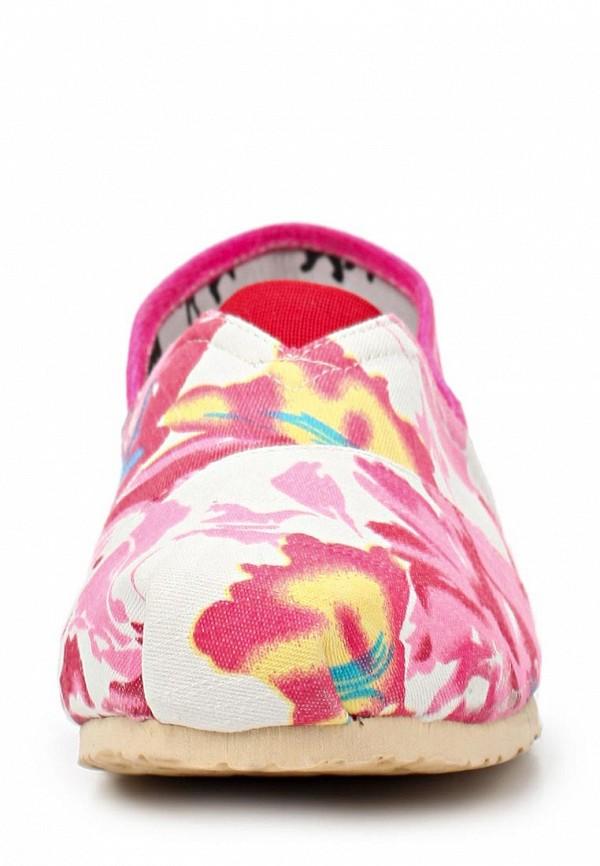 фото Слипоны женские Mol&Pop MP001AWAAC56, розовые/мультицвет
