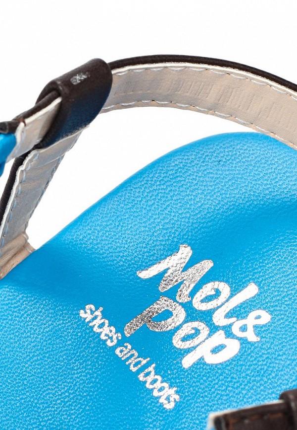 фото Сандалии женские Mol&Pop MP001AWAAD29, голубые