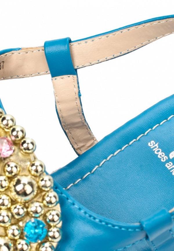 фото Сандалии женские Mol&Pop MP001AWAAD30, голубые