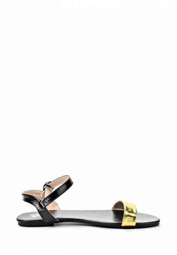 фото Сандалии женские Mol&Pop MP001AWAAD38, черно-золотые