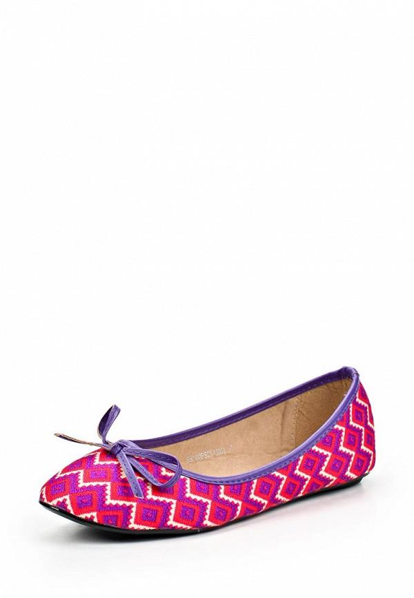 фото Балетки женские Mol&Pop MP001AWAAD77, розовые/мультицвет
