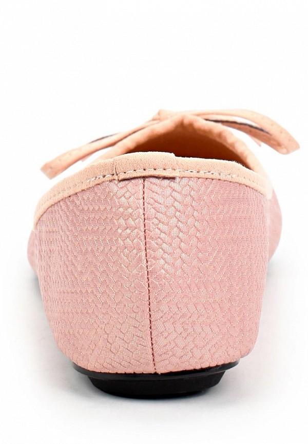 фото Балетки женские Mol&Pop MP001AWAAD93, нежно-розовые