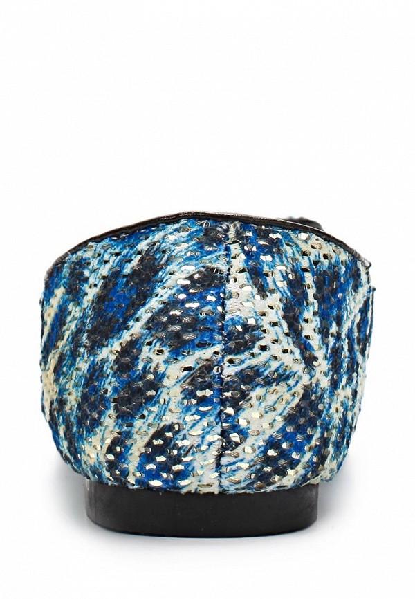 фото Лоферы женские Mol&Pop MP001AWAAE03, синие/мультицвет