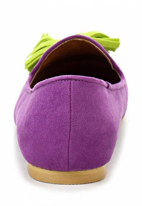 фото Туфли-лоферы женские Mol&Pop MP001AWAAF99, сиреневые
