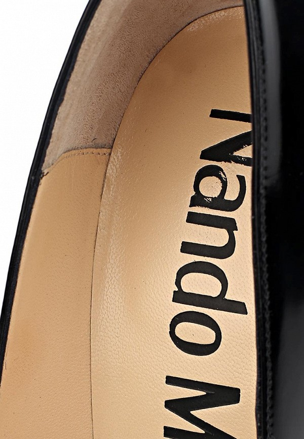 фото Туфли на каблуке-шпильке Nando Muzi NA008AWBHK87, черные