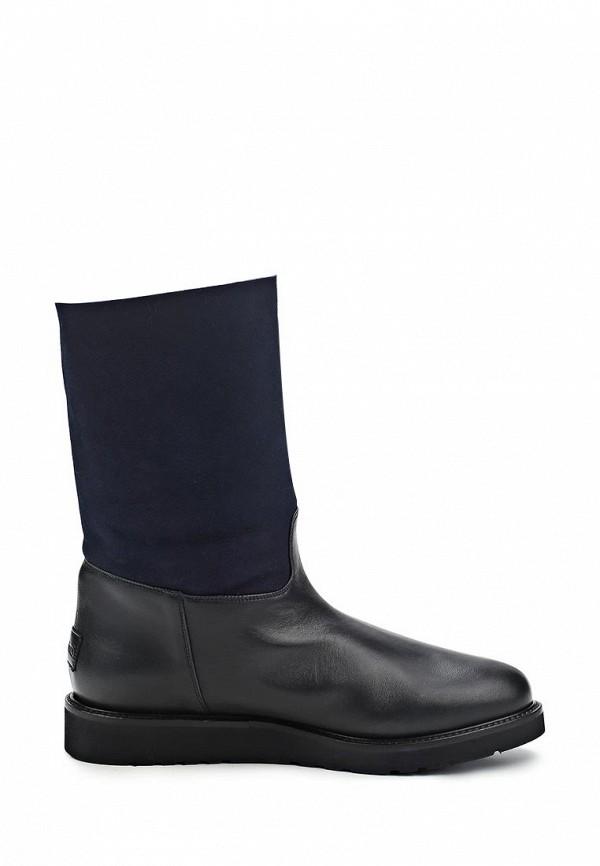 фото Сапоги на платформе без каблука Nando Muzi NA008AWBHK96, синие/черные