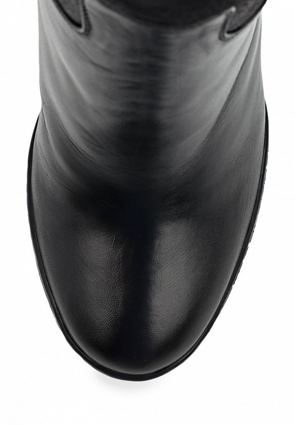 фото Женские полусапоги на танкетке Nando Muzi NA008AWBHL12, черные