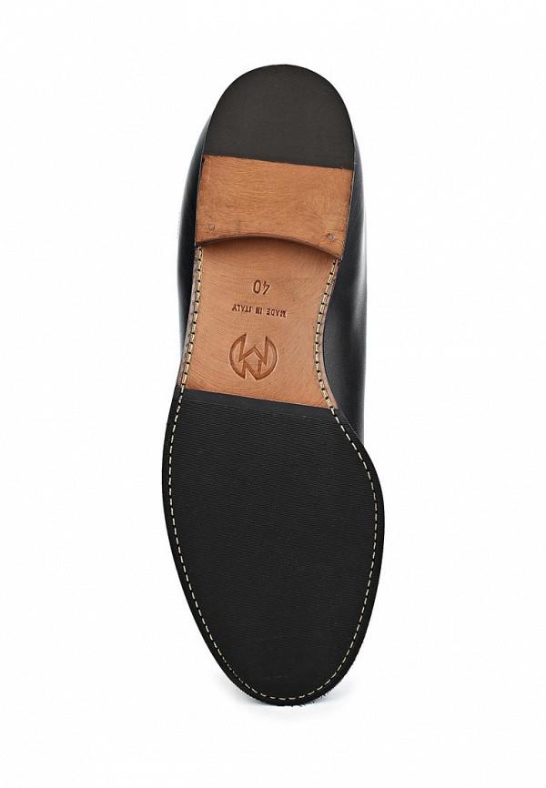 фото Сапоги женские без каблука Nando Muzi NA008AWBHL19, черные кожаные