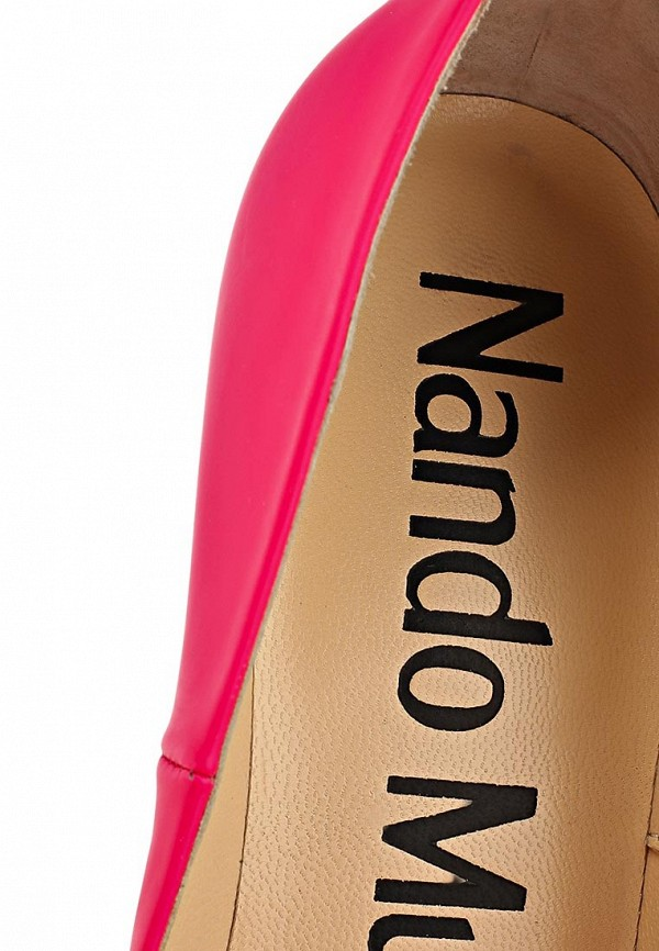 фото Туфли на высоком каблуке Nando Muzi NA008AWBHO69, розовые