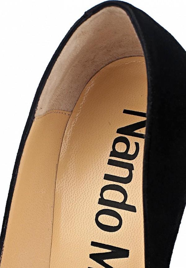 фото Туфли на высоком каблуке Nando Muzi NA008AWCHA24, черные со стразами