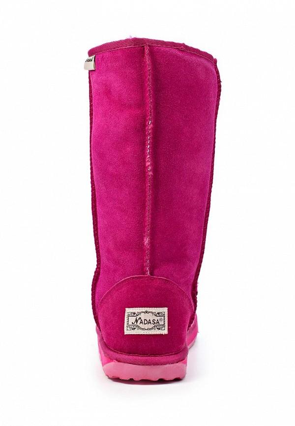 фото Женские угги Nadasa NA379AWLB454, розовые высокие