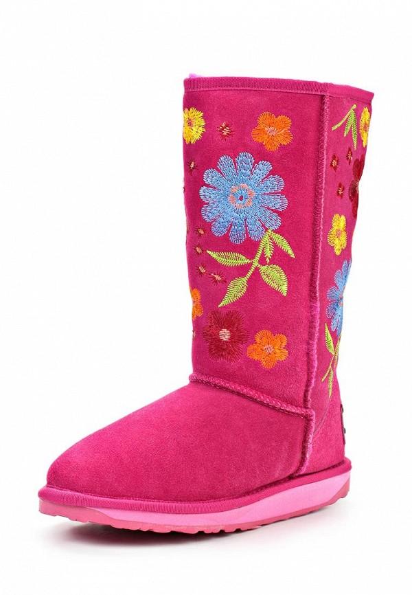 фото Женские угги высокие Nadasa NA379AWLD813, розовые/цветные