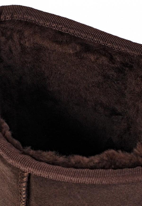 фото Женские угги Nadasa NA379AWLO342, темно-коричневые высокие